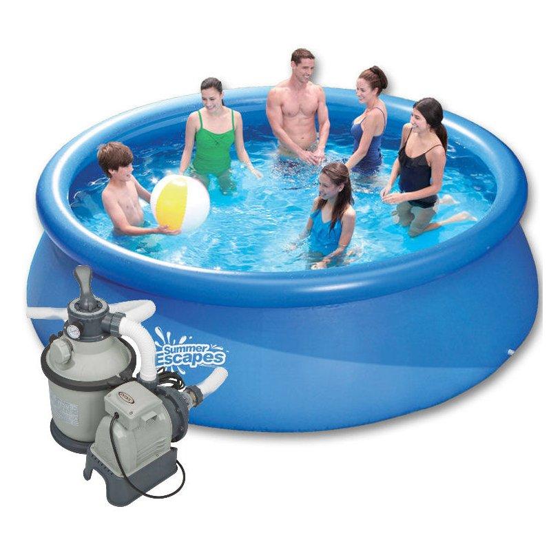 quick up pool m x m sandfilter sand leiter 340 00 e. Black Bedroom Furniture Sets. Home Design Ideas