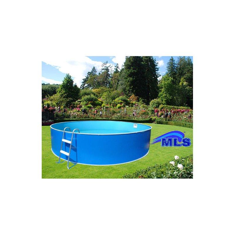 Schwimmbecken set m x 0 90 m rund inkl filter u for Schwimmbecken set