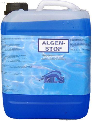 algenstop algentod anti algen 10 liter algenmittel algenex algenbek mpfung pool ebay. Black Bedroom Furniture Sets. Home Design Ideas