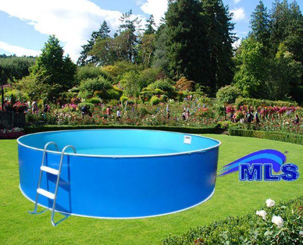 Poolset komplett schwimmbecken rund 3 60 m mit for Schwimmbad filteranlage