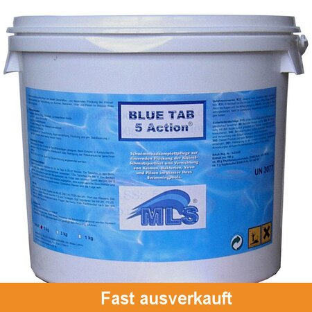 BLUE TAB 5 ACTION® 5 kg !! die Supertablette !!
