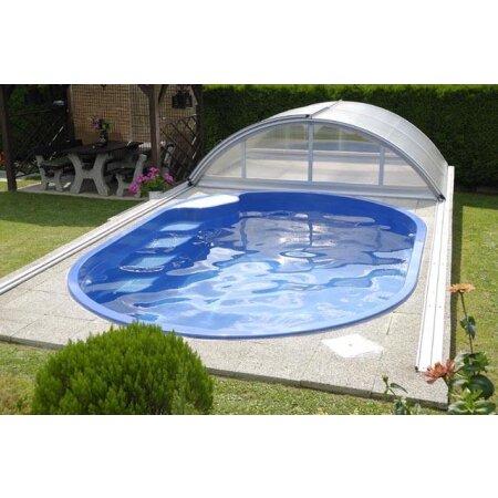 ... Schwimmbecken OLYMP Glasfaser Kunststoff
