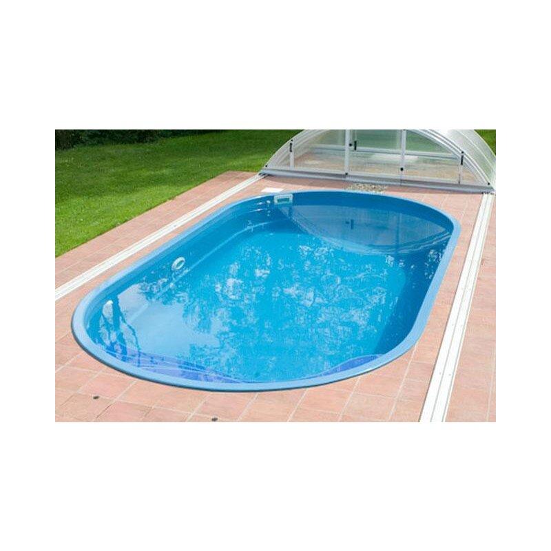 Schwimmbecken ikarus glasfaser kunststoff for Schwimmbecken kunststoff