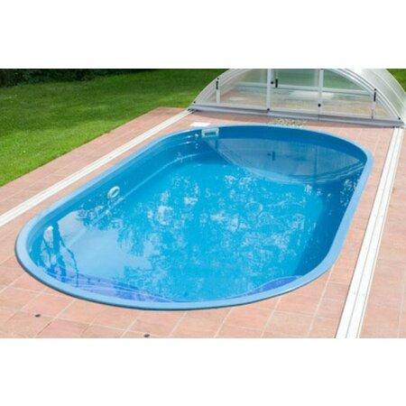 Schwimmbecken IKARUS Glasfaser Kunststoff ...