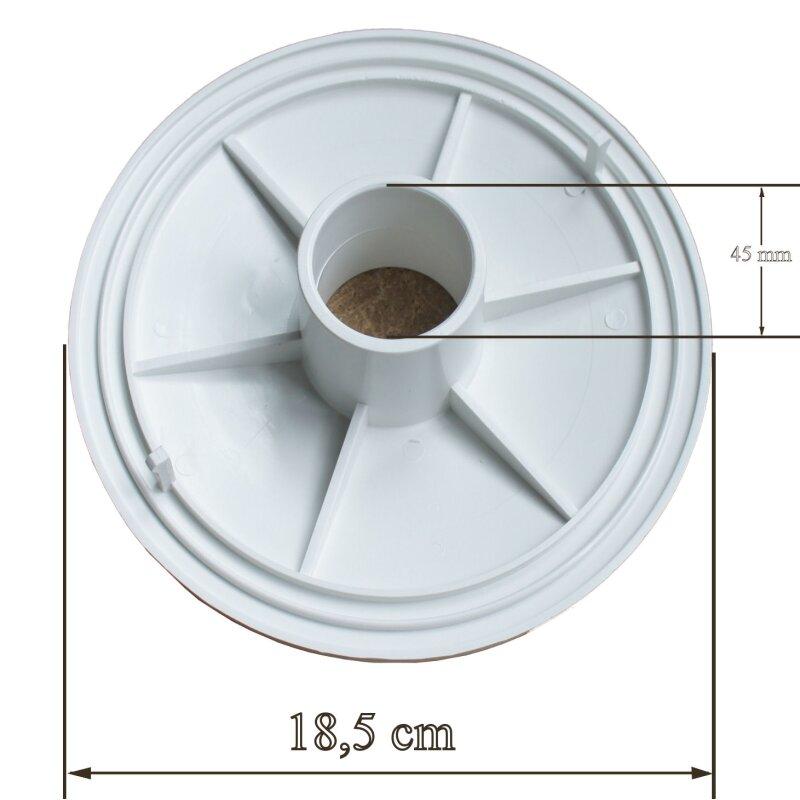 bodensauger anschluss platte f r skimmer t diverse 14 00. Black Bedroom Furniture Sets. Home Design Ideas