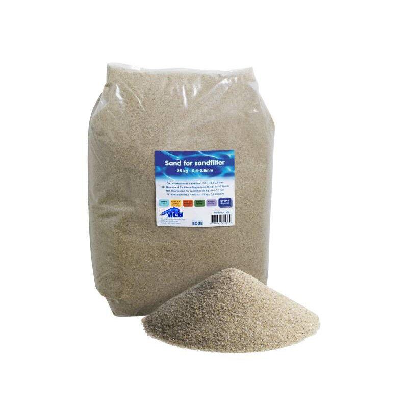 25 kg filtersand 0 4 0 8 mm f r sandfilter poolfilter. Black Bedroom Furniture Sets. Home Design Ideas