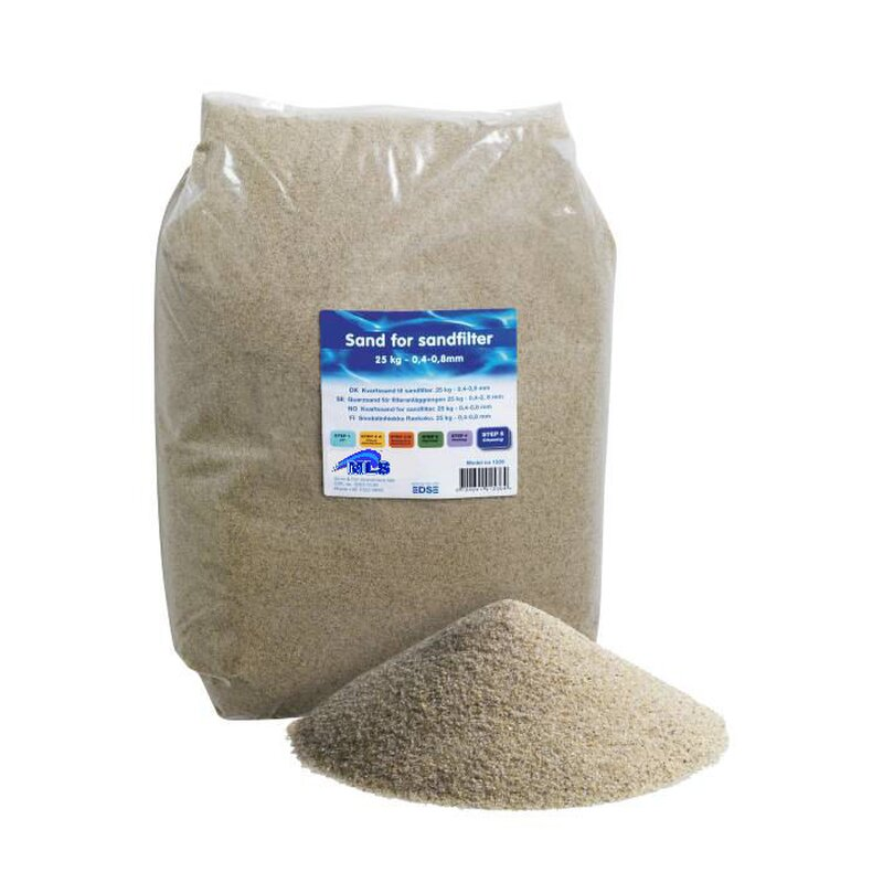 25 kg filtersand 0 4 0 8 mm f r sandfilter poolfilter quarzsand filtermedium ebay. Black Bedroom Furniture Sets. Home Design Ideas