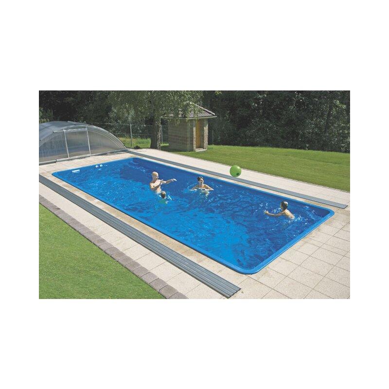 schwimmbecken gemini glasfaser kunststoff