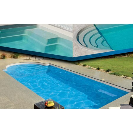 Ceramic Pool TOPAZ  7,50 m x 3,52 m x 1,40 m