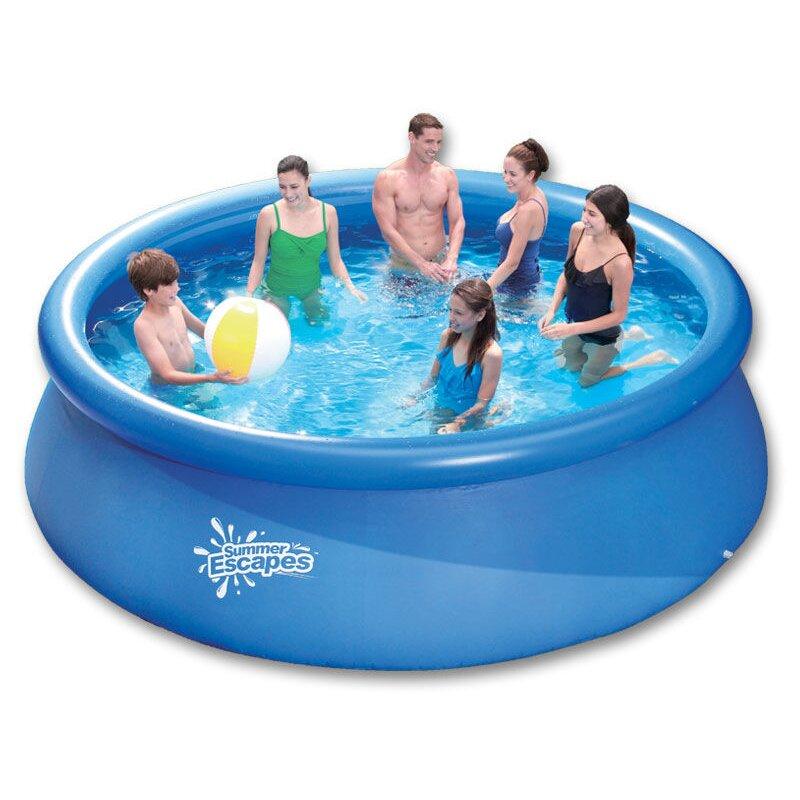 quick up pool m x m 51 00. Black Bedroom Furniture Sets. Home Design Ideas