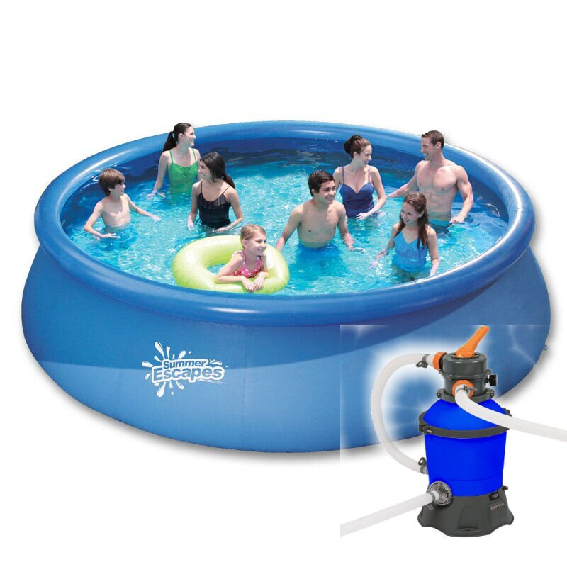 quick up pool m x m sandfilter sand leiter 288 00 e. Black Bedroom Furniture Sets. Home Design Ideas