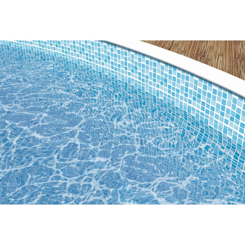 Poolfolie kaufen gallery of rundform xm pool folie blau for Poolfolie blau