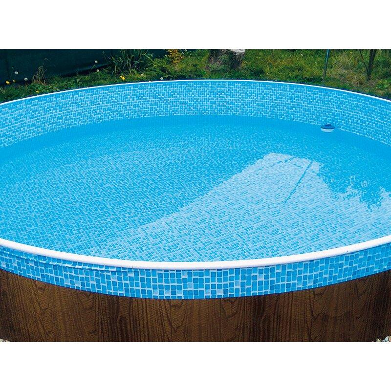 Ersatzauskleidung poolfolie mosaik 4 60 m x 1 10 m 89 99 for Poolfolie 460 x 120