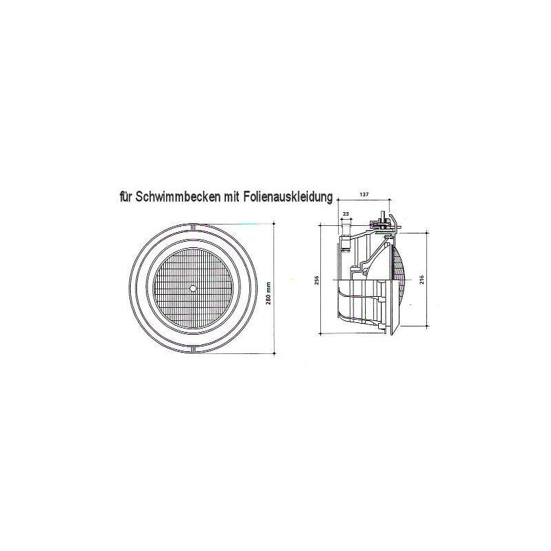 2 st ck unterwasserscheinwerfer 20 watt mit led 199 00 for Schwimmbecken folienauskleidung