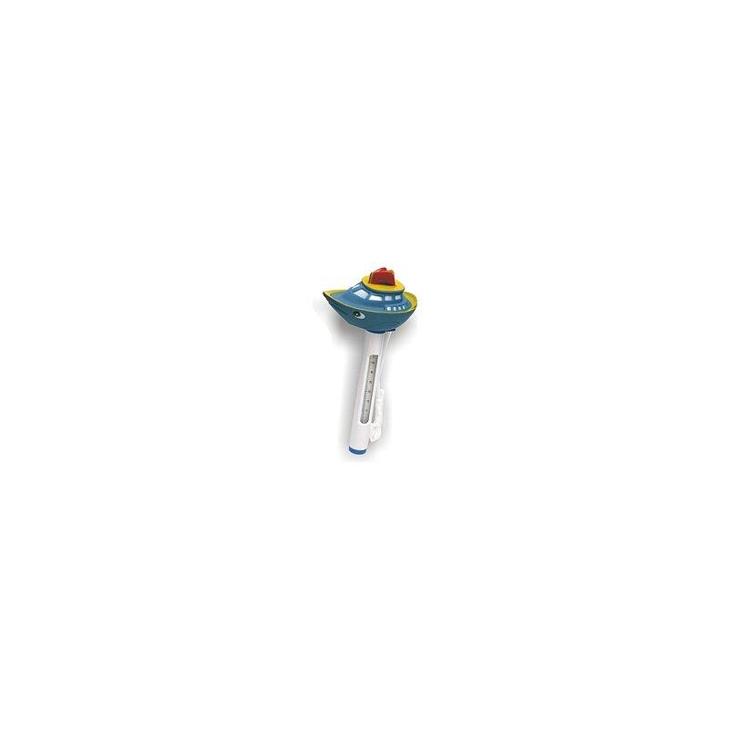 Schwimmbadthermometer mit lustigem hai schiff 7 99 for Schwimmbadthermometer