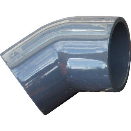 90° PVC-Rohr Filtertechnik Teichpumpe Poolpumpe 6 Stück PVC-Winkel 50 mm