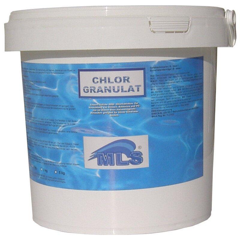 chlorschock chlorgranulat 5 kg frische ware 60 chlorgehalt poolchlor granulat ebay. Black Bedroom Furniture Sets. Home Design Ideas