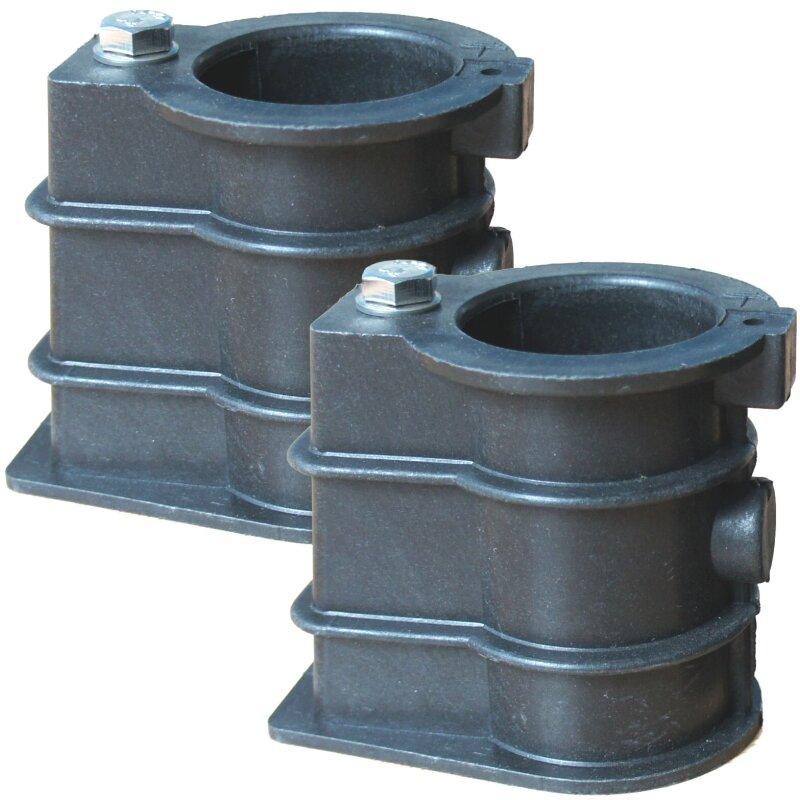 einbauhalterung f r schwimmbadleiter in beton 2 stck bodenh lsen poolleiter ebay. Black Bedroom Furniture Sets. Home Design Ideas